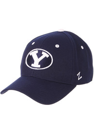 BYU Cougars DH Fitted Hat - Navy Blue