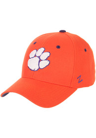 Clemson Tigers DH Fitted Hat - Orange