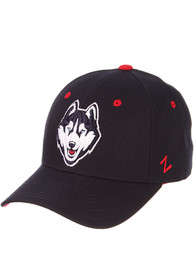 UConn Huskies DH Fitted Hat - Navy Blue