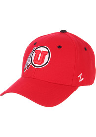 Utah Utes DH Fitted Hat - Red