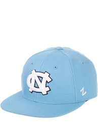North Carolina Tar Heels M15 Flat Bill Fitted Hat - Blue