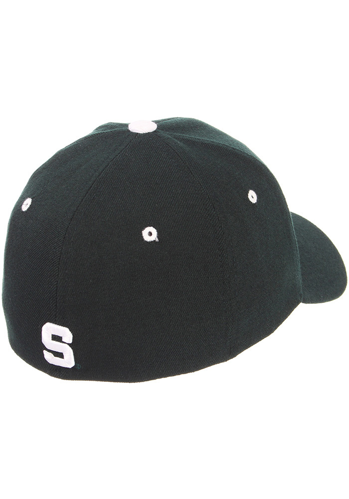 Zephyr Michigan State Spartans Mens Green ZH Flex Hat - Image 2