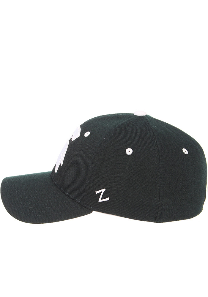 Zephyr Michigan State Spartans Mens Green ZH Flex Hat - Image 7