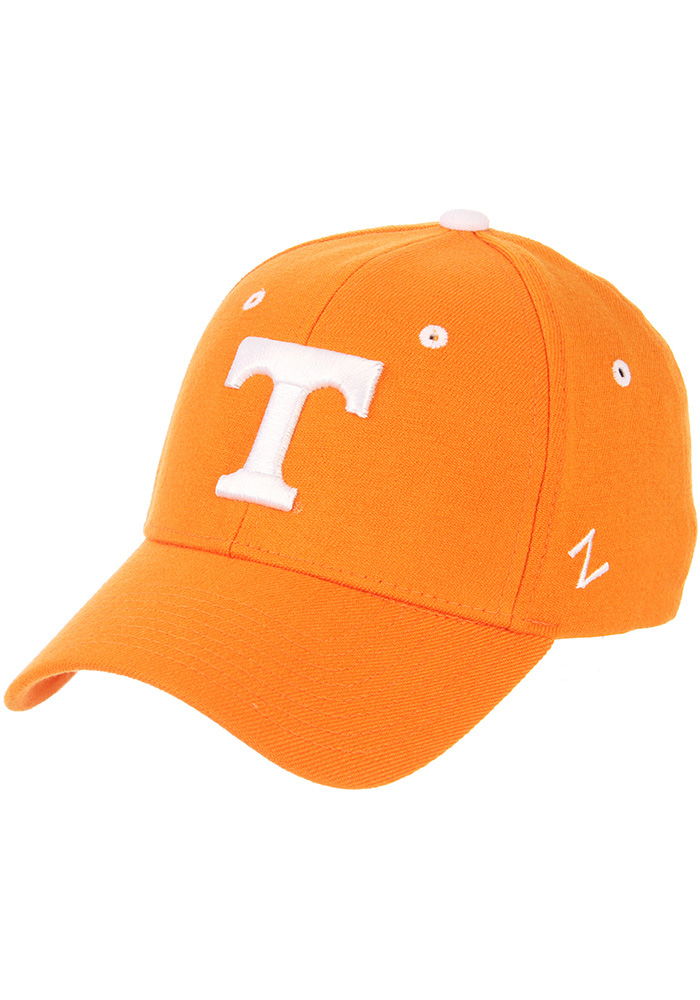 Zephyr Tennessee Volunteers Mens Orange ZH Flex Hat - Image 1