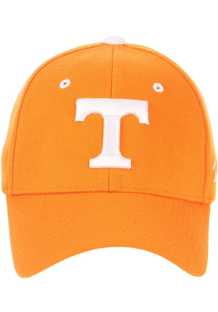 Zephyr Tennessee Volunteers Mens Orange ZH Flex Hat - Image 3