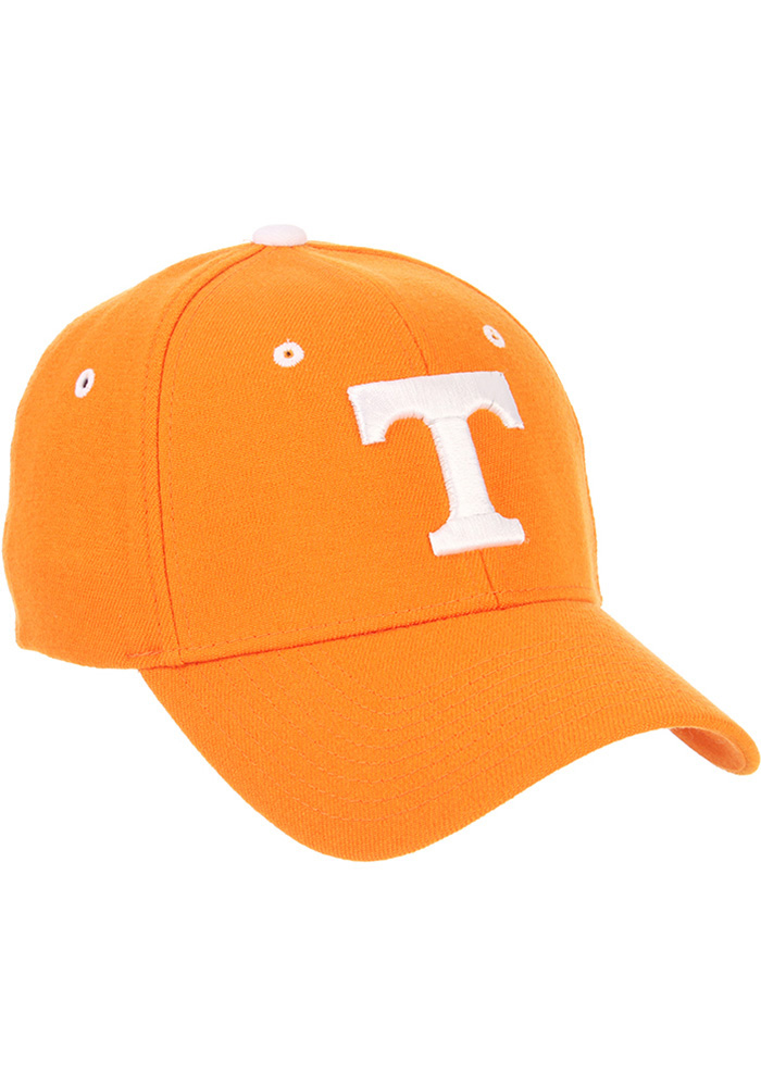 Zephyr Tennessee Volunteers Mens Orange ZH Flex Hat - Image 4