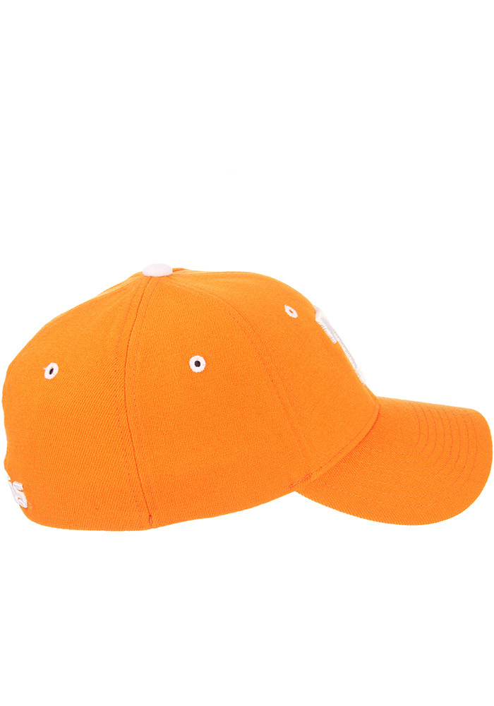 Zephyr Tennessee Volunteers Mens Orange ZH Flex Hat - Image 5
