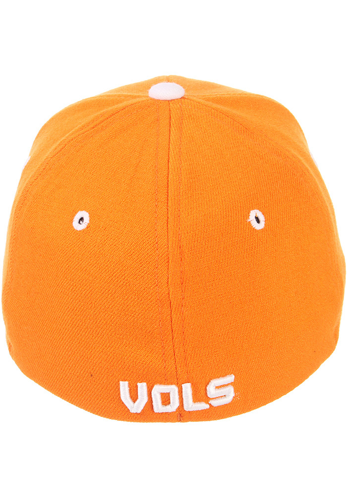 Zephyr Tennessee Volunteers Mens Orange ZH Flex Hat - Image 6