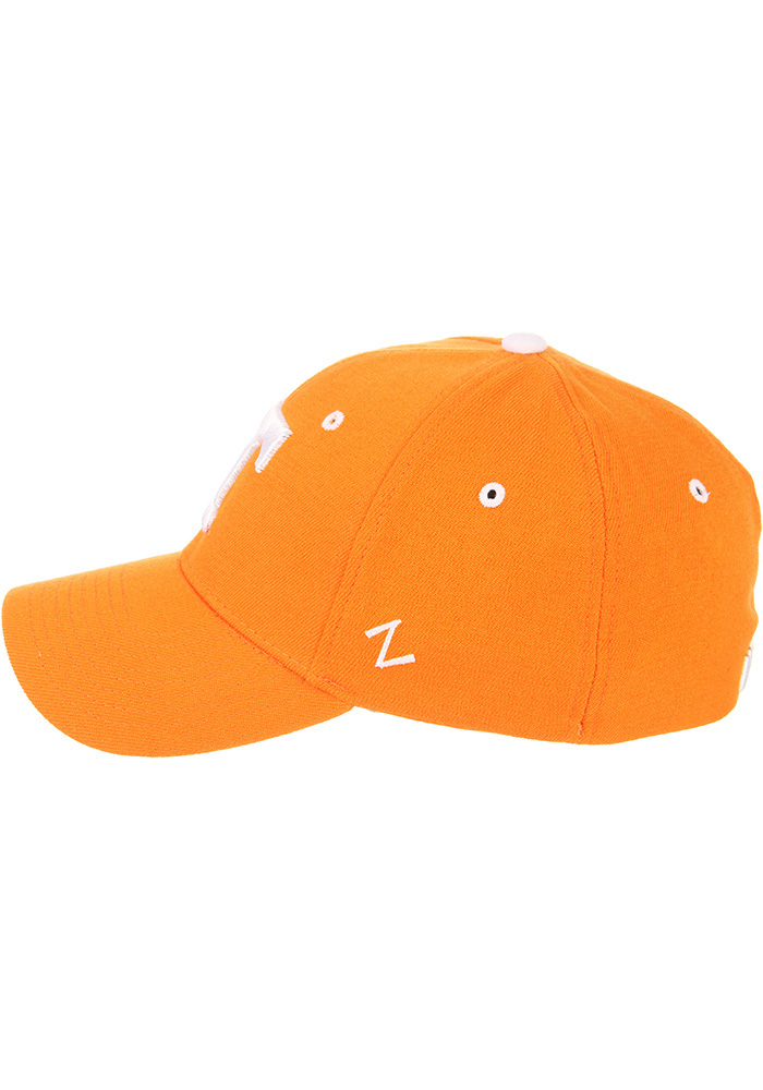Zephyr Tennessee Volunteers Mens Orange ZH Flex Hat - Image 7