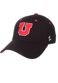 Utah Utes ZH Flex Hat - Black