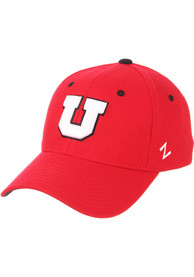 Utah Utes ZH Flex Hat - Red