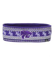K-State Wildcats Womens Zephyr Carousel Headband Knit - Purple