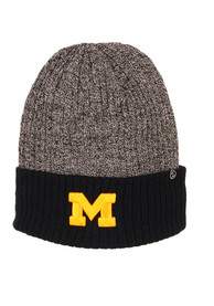 Zephyr Michigan Wolverines Navy Blue Muse Reversible Cuff Knit Hat