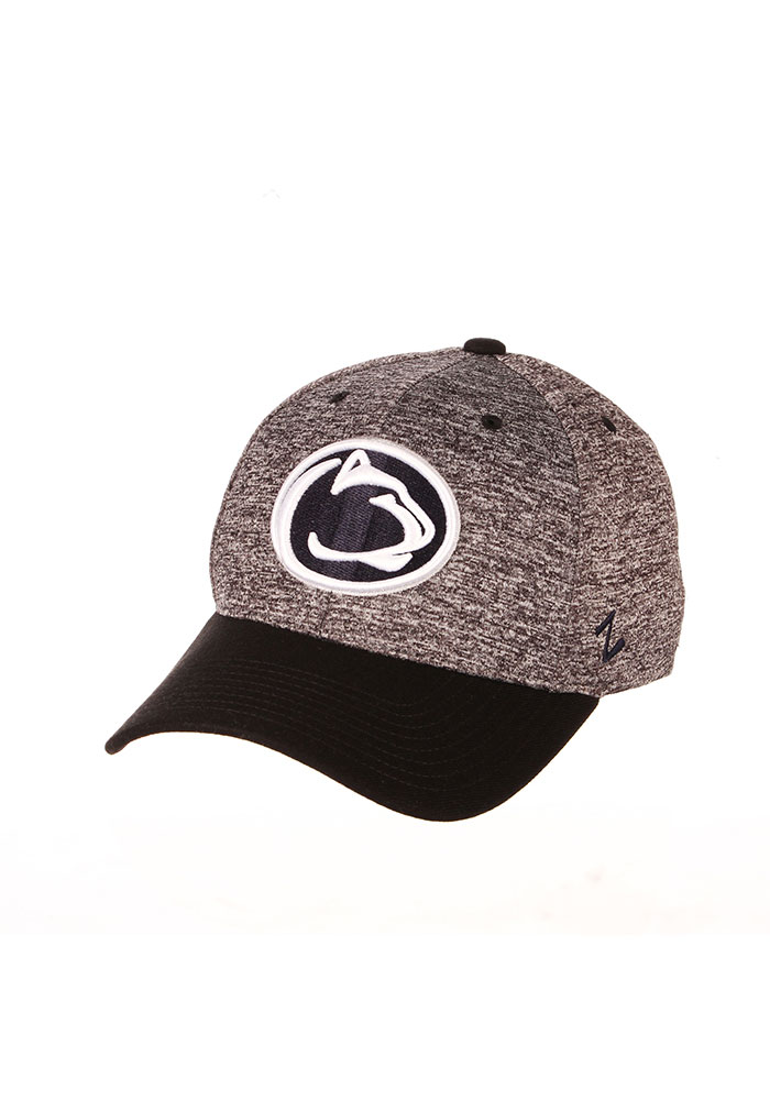 Zephyr Penn State Nittany Lions Mens Grey Interference Flex Hat - Image 1