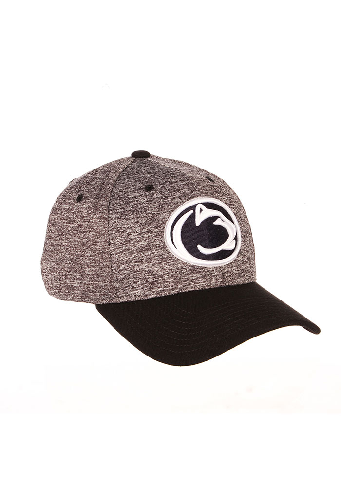 Zephyr Penn State Nittany Lions Mens Grey Interference Flex Hat - Image 2