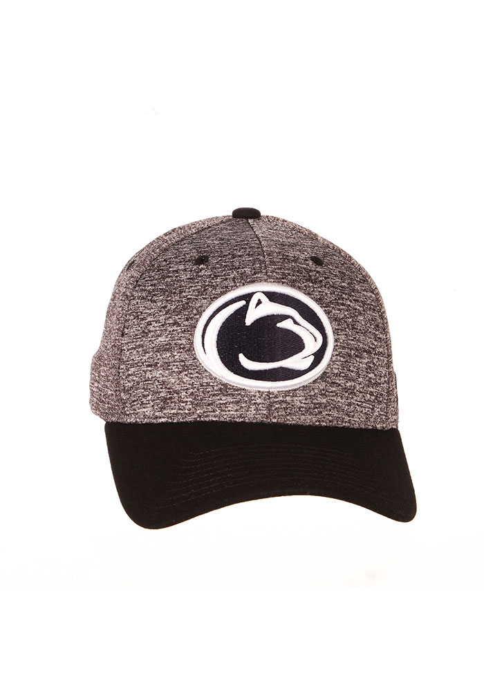 Zephyr Penn State Nittany Lions Mens Grey Interference Flex Hat - Image 3