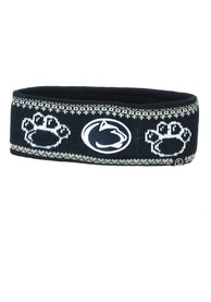Penn State Nittany Lions Womens Zephyr Carousel Headband Knit - Navy Blue