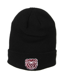 Missouri State Bears Zephyr Edge Beanie Knit - Black