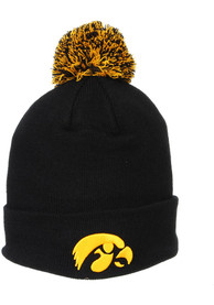 Iowa Hawkeyes Zephyr ANF Pom Knit - Black