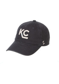 Kansas City Mavericks Zephyr Scholarship Adjustable Hat - Grey