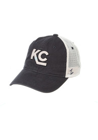 Kansas City Mavericks Zephyr University Adjustable Hat - Grey