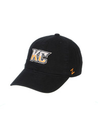 Kansas City Mavericks Zephyr KC Scholarship Adjustable Hat - Black
