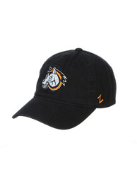 Kansas City Mavericks Zephyr Mascot Scholarship Adjustable Hat - Black