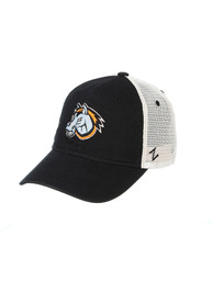 Kansas City Mavericks Zephyr Mascot University Adjustable Hat - Black