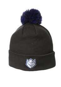 Saint Louis Billikens Zephyr Cuff Pom Knit - Charcoal