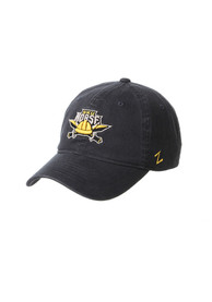 Northern Kentucky Norse Zephyr Scholarship Adjustable Hat - Charcoal