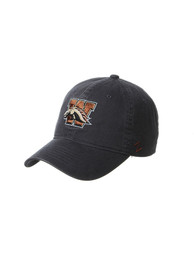 Western Michigan Broncos Zephyr Scholarship Adjustable Hat - Charcoal