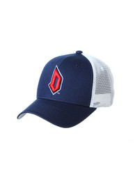 Duquesne Dukes Zephyr Big Rig Adjustable Hat - Navy Blue