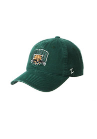 Ohio Bobcats Zephyr Scholarship Adjustable Hat - Green