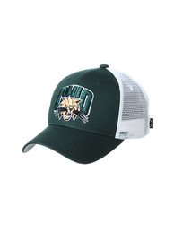 Ohio Bobcats Zephyr Big Rig Adjustable Hat - Green