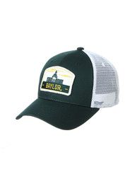 Baylor Bears Zephyr Tempe TC Meshback Adjustable Hat - Green