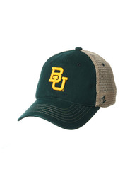 Baylor Bears Zephyr Columbus Meshback Adjustable Hat - Green