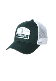 Michigan State Spartans Zephyr Tempe TC Meshback Adjustable Hat - Green