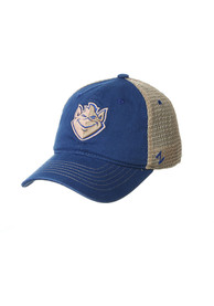 Saint Louis Billikens Zephyr Columbus Meshback Adjustable Hat - Blue