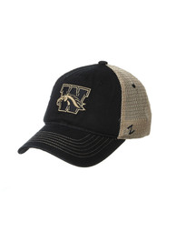 Western Michigan Broncos Zephyr Columbus Meshback Adjustable Hat - Black