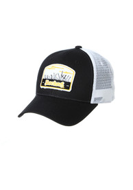 Wichita State Shockers Zephyr Tempe TC Meshback Adjustable Hat - Black
