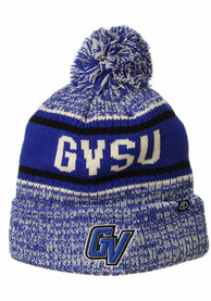 Grand Valley State Lakers Zephyr Springfield Cuff Pom Knit - Blue