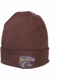 K-State Wildcats Zephyr Pop Cuff Knit - Grey