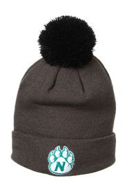 Northwest Missouri State Bearcats Zephyr Pom Cuff Knit - Grey