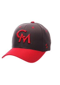 Central Missouri Mules Zephyr 2T Competitor Adjustable Hat - Grey