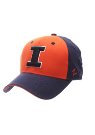 Illinois Fighting Illini Zephyr Challenger Adjustable Hat - Navy Blue
