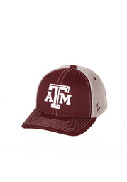 Zephyr Texas A&M Aggies Maroon Chute Youth Adjustable Hat