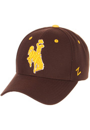 Wyoming Cowboys Competitor Adjustable Hat - Brown