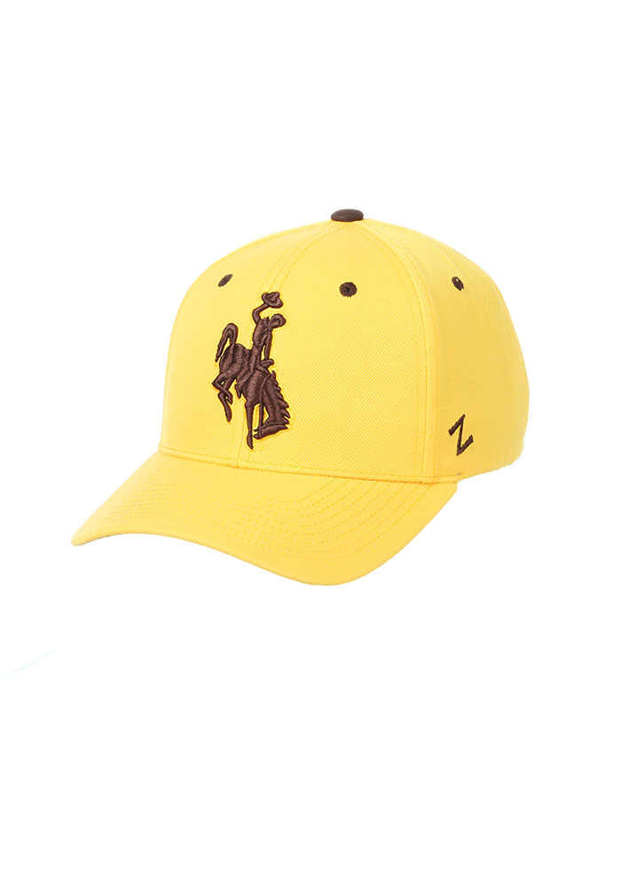 Wyoming Cowboys Competitor Adjustable Hat - Gold - Image 1