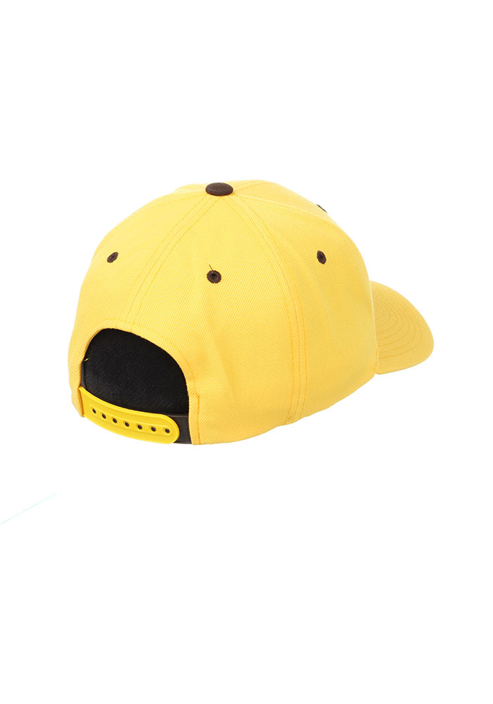 Wyoming Cowboys Competitor Adjustable Hat - Gold - Image 2