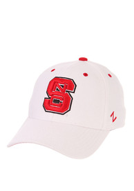 NC State Wolfpack ZH Flex Hat - White